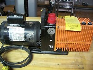 Alcatel Model 2021a Vacuum Pump