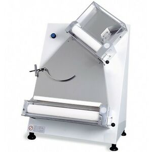 Pizza Dough Roller Sheeter With 2 Pairs Of Rollers Diameter 16 Rolling Machine