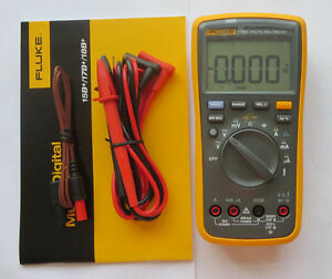 Usa Seller Fluke 17b Digital Multimeter Tester Dmm With Tl75 Test Leads F17b