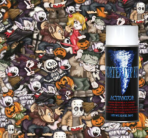 Hydrographics Film Activator Hydrodipping Water Transfer Hydro Halloween