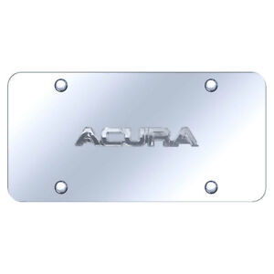 License Plate Chrome With Acura Name On Chrome officially Licensed
