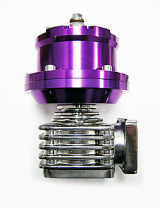 Obx Waste Gate Aluminum External 40 Mm 40mm 4 bolt Flange Wg Wastegate purple