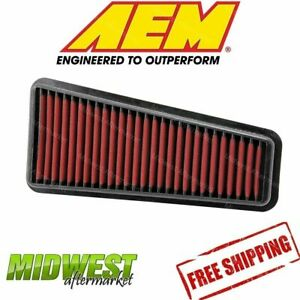 Aem Dryflow Air Filter Fits 2002 2015 Toyota Tacoma Tundra Cruiser 4 Runner 4 0l
