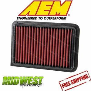 Aem Dryflow Air Filter Fits 2007 2017 Toyota Camry Venza 2 5l 2 7l 2 4l