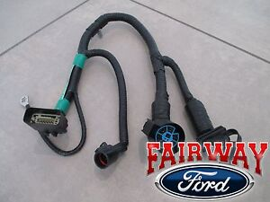 05 Thru 07 F 150 Oem Genuine Ford 7 pin Trailer Tow Wiring Harness Connector New