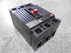 Used General Electric Thed136040 Circuit Breaker 40 Amps 600vac