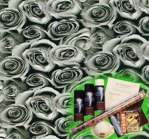 Hydrographics Dip Kit Activator Hydrodipping Hydro Dip Bed Of Roses