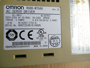 Omron Servo Drive R88d wt04h New Free Expedited Shipping R88dwt04h