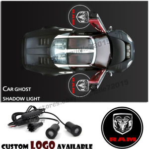Car Door Led Dodge Logo Welcome Projector Laser Ghost Shadow Light For Dodge Ram