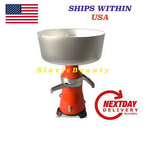 Milk Cream Separator Electric 100l h New 120v 15 Metal Ships Free Within Usa