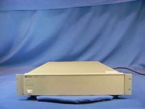 Agilent hp 87130a Attenuator Switch Driver