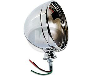 Vw Buggy Offroad Chrome 7 Inch Light Bucket Ac941411 Baja Headlight Housing