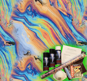 Hydrographics Dip Kit Activator Water Transfer Film Hydro Dipping Oil Slick