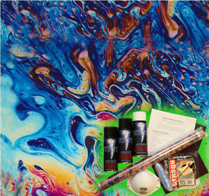 Hydrographics Dip Kit Activator Water Transfer Film Hydro Oil Splash