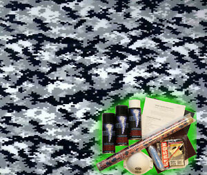 Hydrographics Dip Kit Activator Water Transfer Film Hydro Urban Digital Camo