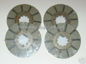 Brake Discs For Farmall Ih Super C 200 240 330 340 404 2404 1875456c1 368181r92