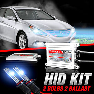 Genssi Hid Xenon Conversion Kit Bulbs 55w X Treme For Hyundai Sonata 2011 2014