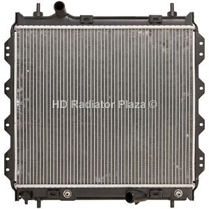 Radiator Replacement For 01 10 Chrysler Pt Cruiser 2 4l L4 4 Cylinder N A Turbo