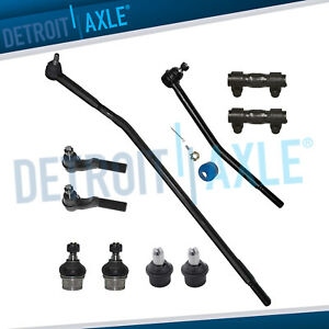 New 10pc Complete Front Suspension Kit For Ford E 150 Econoline Club Wagon