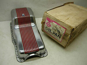 1960s Nos Ford Mercury Cal Custom Aluminum Oil Pan 7100 260 289 302 Made In Usa