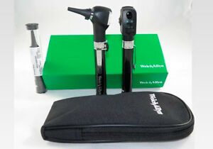 Welch Allyn 95001 Otoscope Opthalomscope Diagnostic Set New
