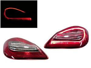 981 Style Light Bar Led Rear Tail Light For 2009 12 Porsche 987 Cayman Boxster