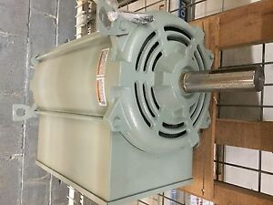 16 Hp 1800 Rpm 256tz Frame 208 230 V 1 Ph Leeson Crop grain Dryer Cat 851034