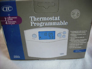 Thermostat Heating Cooling Digital Programmable