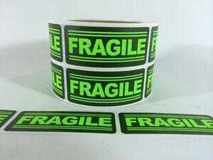 250 1x3 Fragile Labels Stickers For Shipping Supplies Office Products Fragile