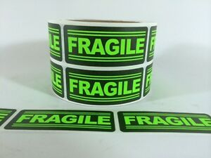 100 1x3 Fragile Labels Stickers For Shipping Supplies Office Products Fragile