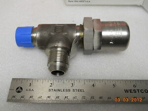 Stainless Parker Hydraulics Relief Valve 1 1000 Psi 649xb 9 12 t 316605 01