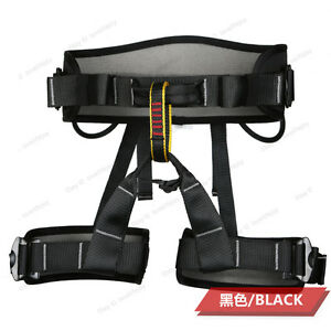 New Outdoor Sports Climbing Safety Sit Harness Waist Belt Safe Strap Travel Tool