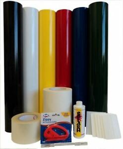 Vinyl Roll Calendared Package Medium Kit