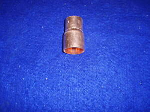 1 X 3 4 Copper Bell Reducer Coupling fits 1 1 8 Od X 7 8 Od Pipes