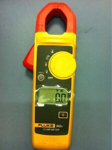 Fluke 302 Digital Clamp Meter Ac dc Multimeter Tester Dmm
