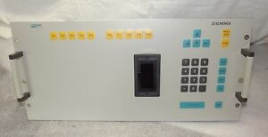 Schenck Cab 750 Rotec Monitor Keyboard Control Panel Nos Worldwide Shipping