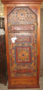 Beautiful Cabinet With Antique Painted Door