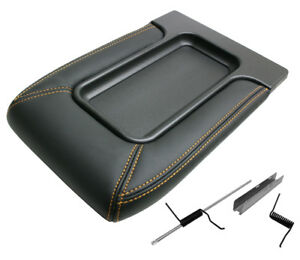 Surburban Silverado Sierra Yukon Le Black Center Console Top Lid Kit