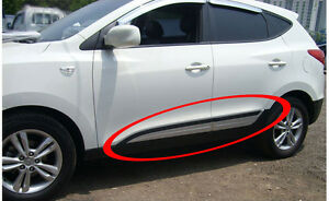 Premium Side Door Garnish Milding Trim For 2011 2012 2013 Hyundai Tucson Ix35