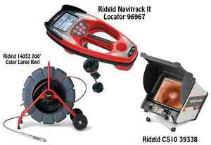 Ridgid 200 Color Reel 14053 Navitrack Ii Locator 96967 Cs10 39338