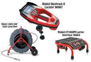 Ridgid 200 Color Reel 14053 Navitrack Ii Locator 96967 Lt1000m 36663