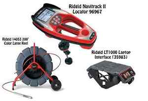 Ridgid 200 Color Reel 14053 Navitrack Ii Locator 96967 Lt1000 35983