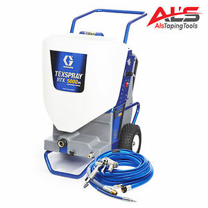 Graco Rtx Texspray 5000pi Professional Interior Drywall Texture Sprayer New