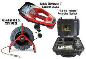Ridgid 200 Mini Reel 48488 Navitrack Ii Locator 96967 r style Iphone Monitor