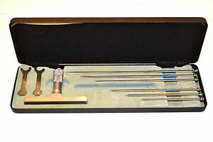 Nos Moore Wright 894m 150 0 150mm Metric Micrometer Depth Gage 6 Rods Eb5g 2a