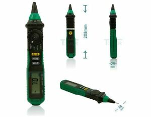 Ms8211 Pen Multimeter Non contact Ac Voltage Detector