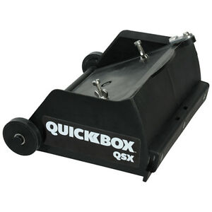 Tapetech Quickbox Qsx 6 5in Finishing Box For Hot Mud new Free T shirt