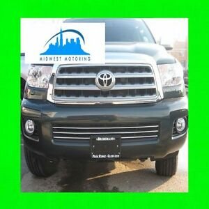 For Toyota Sequoia 08 14 Chrome Trim For Grille Grille 09 10 11 12 13 2013 2014