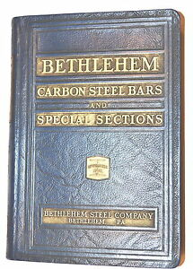 Bethlehem Carbon Steel Bars Special Sections Catalog 144 1937 rb172