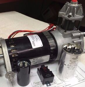 Thomas Oil Less Refrigerant Recovery Compressor Vortex 115v 530cv75 409
